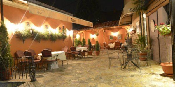 Bašta Restorana Aleksandra